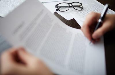 read your loan application