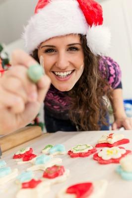 start baking holiday goodies